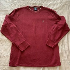 Polo by Ralph Lauren Waffle Long Sleeve Shirt